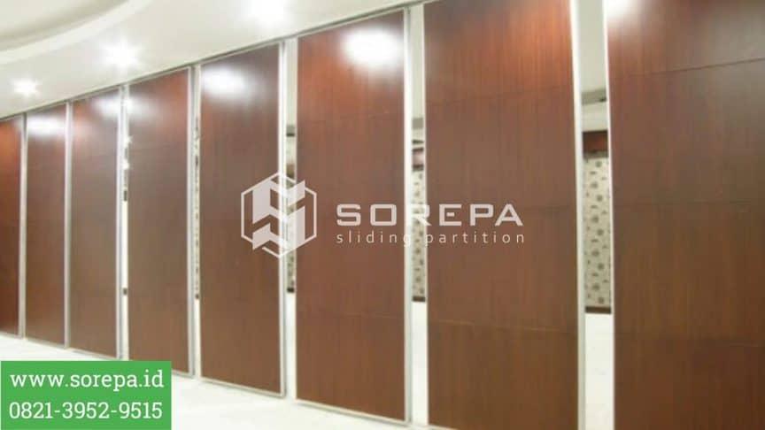 Finishing Pintu Lipat Redam Suara Produk Sorepa.id